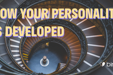 how your personality is developed